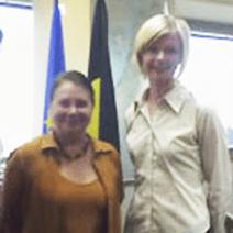 Belgian Ambassador Danielle del Marmol