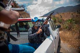 Criminal voience in Mexico