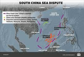 Terminal disputes in south china sea
