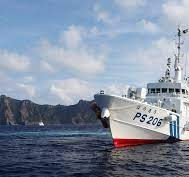 tensions in the east china sea